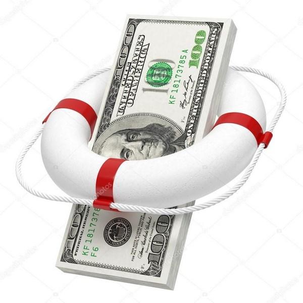 Деньги – спасательный круг